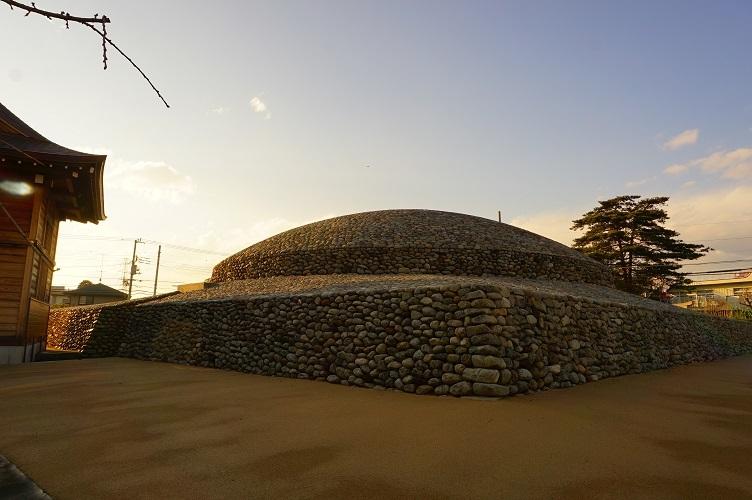 武蔵府中熊野神社古墳(南東)
