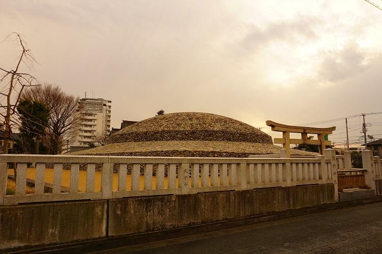 武蔵府中熊野神社古墳(北)