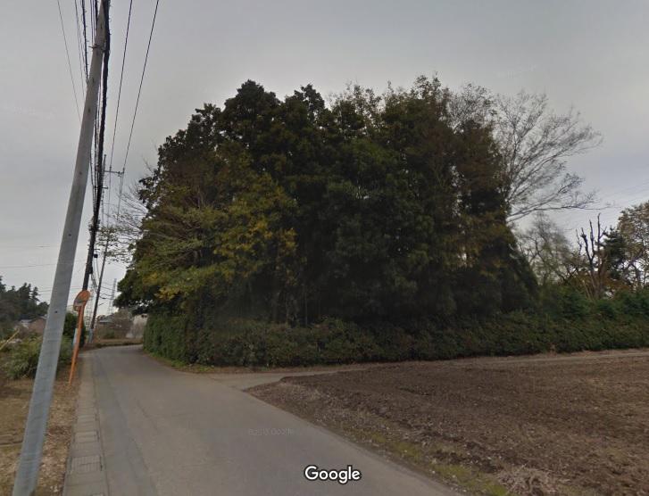 12 坂戸天神さま古墳(Googleストリートビュー)