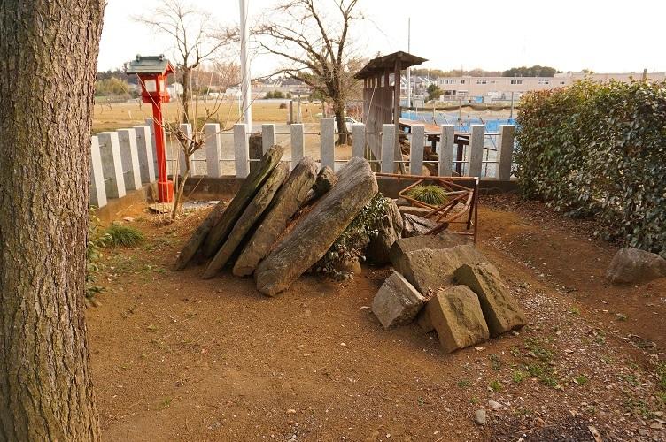 坂戸勝呂神社古墳10石室材