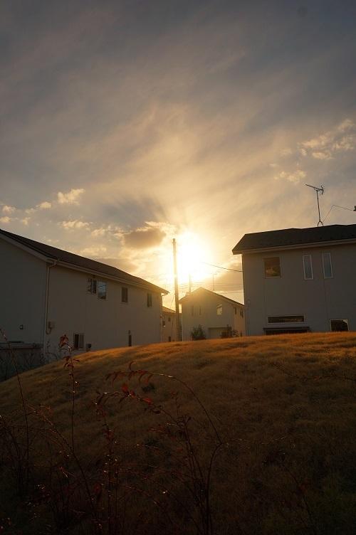 新山2号墳06夕陽