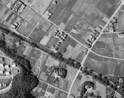 国土地理院空中写真19630626_MKT636-C16-8を拡大