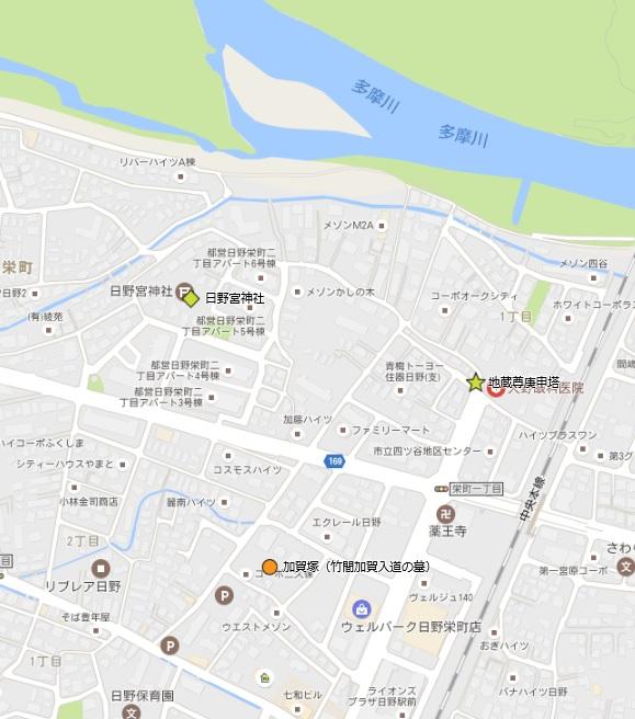 加賀塚・日野宮地図