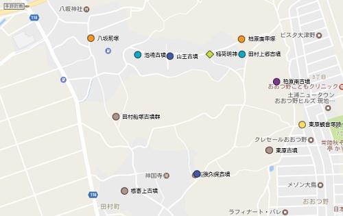 田村町地図