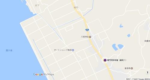 橋門阿弥陀堂地図