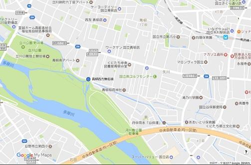 青柳西方無名墳地図