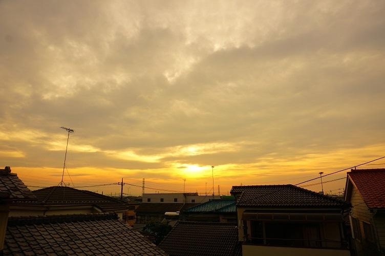 07 川越砂新田シベイ塚墳頂より西を見る
