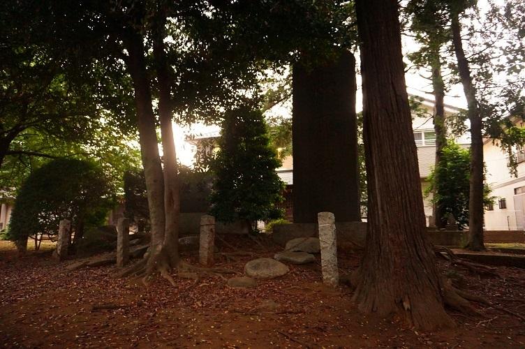 10 川越藤間諏訪神社忠魂碑