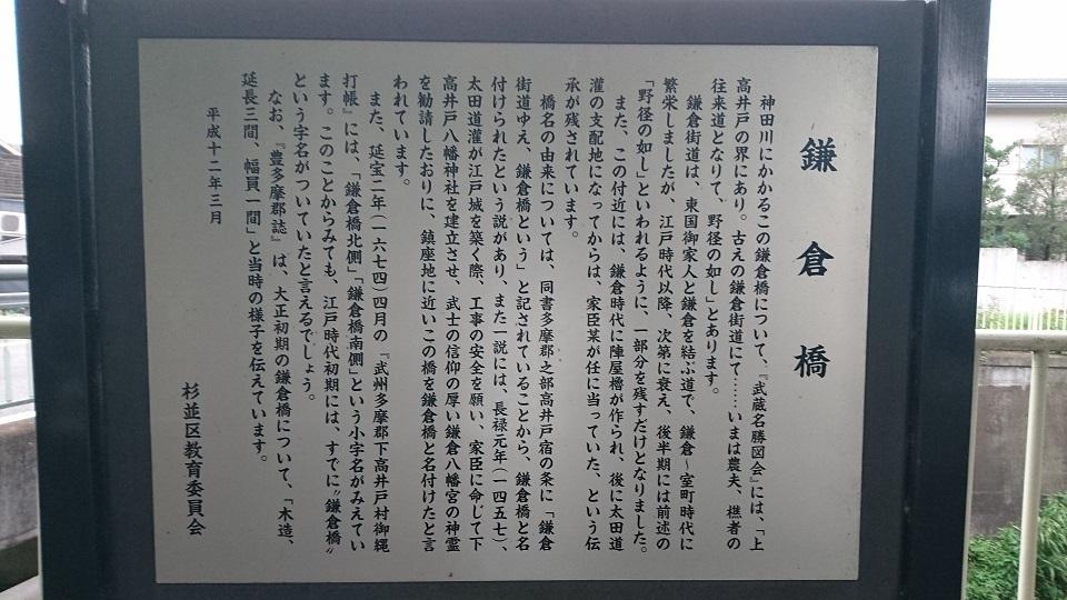 12 杉並塚山公園前鎌倉街道解説