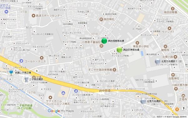 高津区地図①