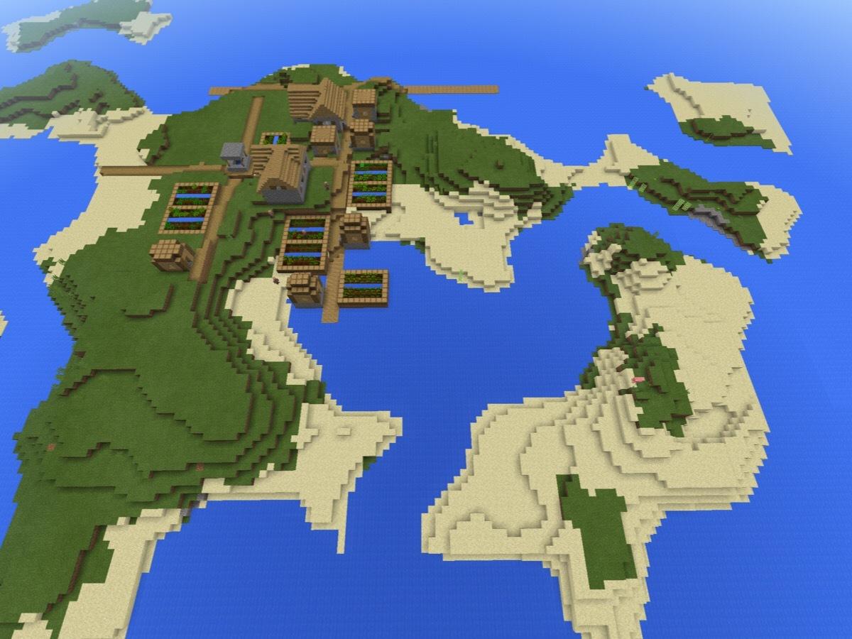 シード マイクラ 値 孤島