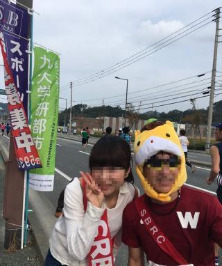 福岡マラソンはファンラン♪
