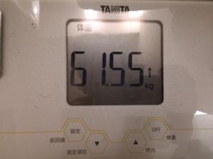 3月14日朝の体重