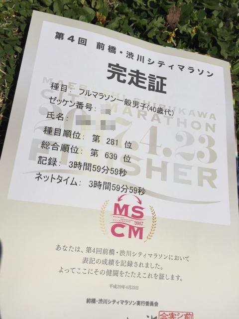 0423前橋・渋川シティマラソン完走賞
