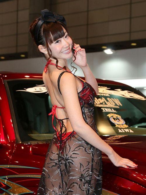 【画像】キャンギャルの衣装がエロ過ぎて商品がどうでもいい件www 38枚 No.11