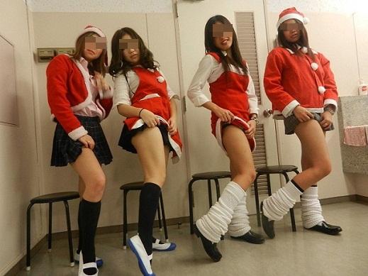 (写真)もうすぐクリトリススマスなのでサンタコスプレの女子集めてみたよwwwwww 32枚