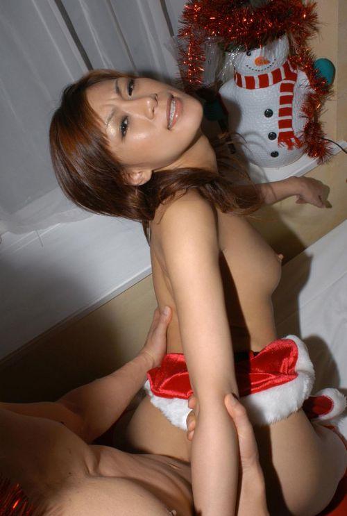クリスマスの聖夜にして欲しいサンタコスでのセックスエロ画像 34枚 No.29