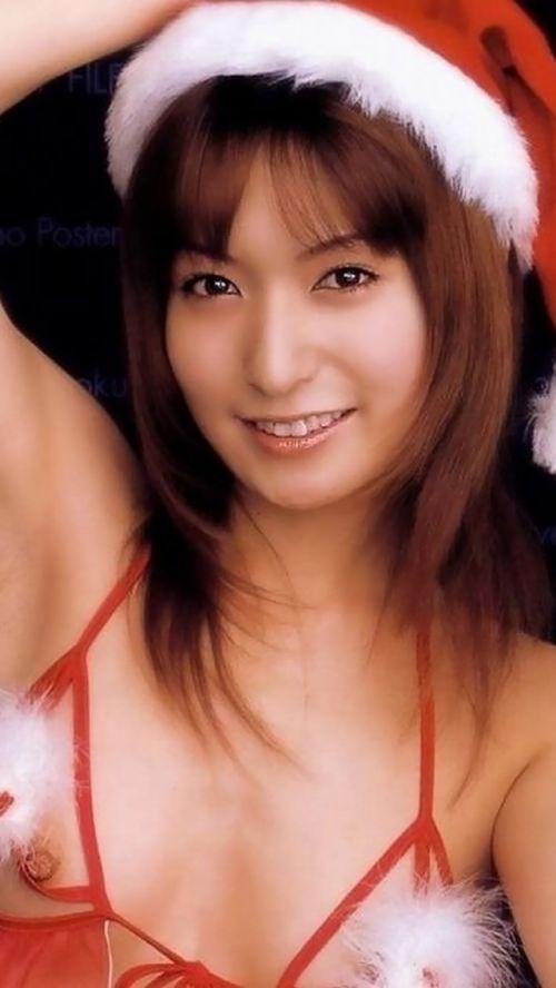 【画像】クリスマスにサンタコスプレして下半身ヌードの女の子エロ過ぎwww 45枚 No.17