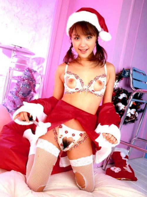 【画像】クリスマスにサンタコスプレして下半身ヌードの女の子エロ過ぎwww 45枚 No.30