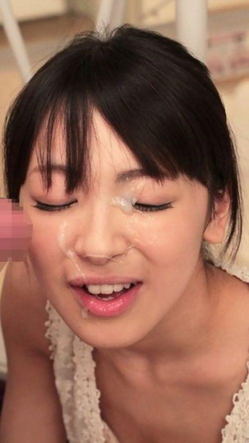 服を着たままの女の子の顔に顔射しちゃうエロ画像まとめ 39枚 No.2