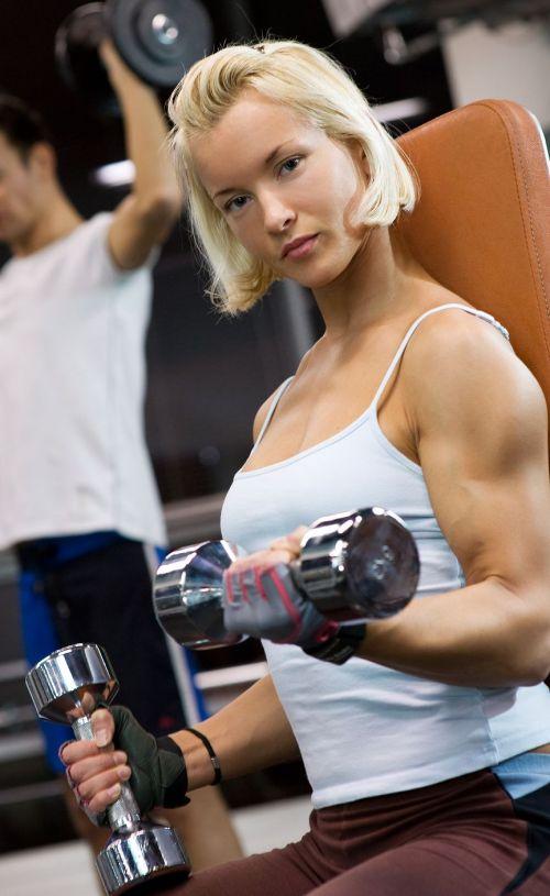 【画像】筋肉モリモリのガチマッチョ外国人女性の腹筋エロ過ぎ 33枚 No.5