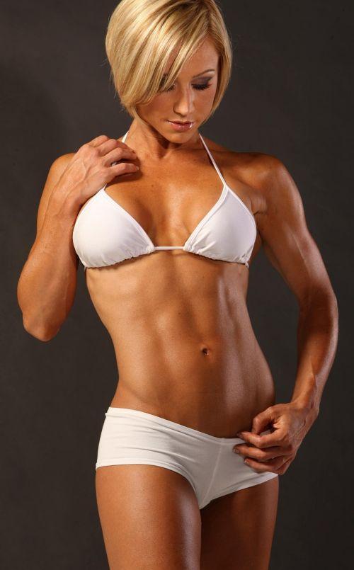 【画像】筋肉モリモリのガチマッチョ外国人女性の腹筋エロ過ぎ 33枚 No.8