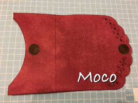 革小物 カードケース ウラ