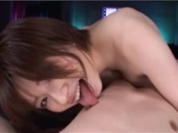 M男がアナル舐めや騎乗位で犯される主観アダルト動画【奥田咲】