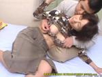 熟女動画だよ : 【無修正】息子に挿入されてよがりまくる未亡人母