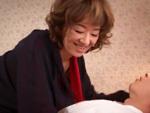 ダイスキ!人妻熟女動画 : 若い男を手玉に取るセレブでインモラルな五十路妻! 真梨邑ケイ