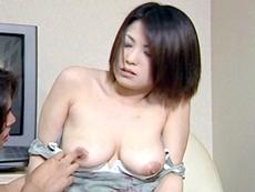 【無修正】苛めてほしいドMな巨乳妻 岡本美奈代