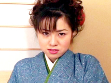 【無修正】着物美人 千夏さんのサービス