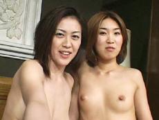 【無修正】痴熟女2人で淫語責め 桜田由加里 小山