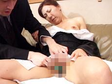 【無修正】喪服未亡人ファック 刹那愛