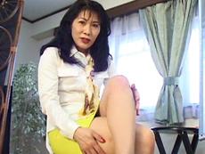 【無修正】チ●ポ大好き女社長48歳!  安藤貴子