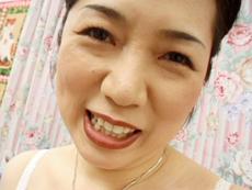 【無修正】波純子 美貌は健在!快楽を求める五十路