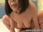 裏蕩劇場 : 【無修正】なかなか固くならない肉棒を舐る段腹熟女!