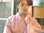 熟女動画だよ : 【無修正】北条麻妃が和服を着たままフェラで連続抜き