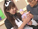 エロ備忘録 : 【無修正】メイド服の母乳ママにメロメロ 吉沢ミルク