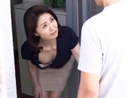 ダイスキ!人妻熟女動画 : 隣に住む娘のカレシに寝取られるスレンダーな四十路母! 麻生千春