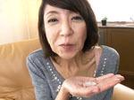 ダイスキ!人妻熟女動画 : ガリガリの五十路熟女が人生初の口内射精後ハメられ、か細い声でヨガる 宮崎恵美子