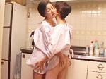 エロ備忘録 : 【無修正】裸割烹着熟女レズ 小山典子