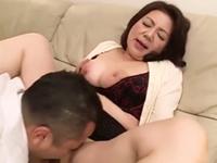 ダイスキ!人妻熟女動画 :爆乳ピンク乳首の還暦義母が先生や息子と肉弾セックス! 富岡亜澄