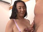 熟女ストレート : ぽっちゃりボディと巨尻が魅力の五十路熟女が初撮りセックス! 松岡瑠実