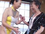 オバタリアン倶楽部 : 【無修正】和服のお婆ちゃんレズ
