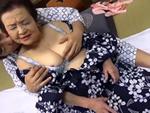 熟女ストレート : 豊満巨乳の六十路熟女と旦那のおしどり夫婦が温泉旅館で超久々のセックス!