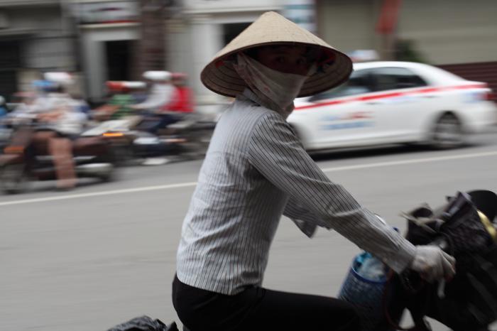 ベトナムスタイルのお姉さん