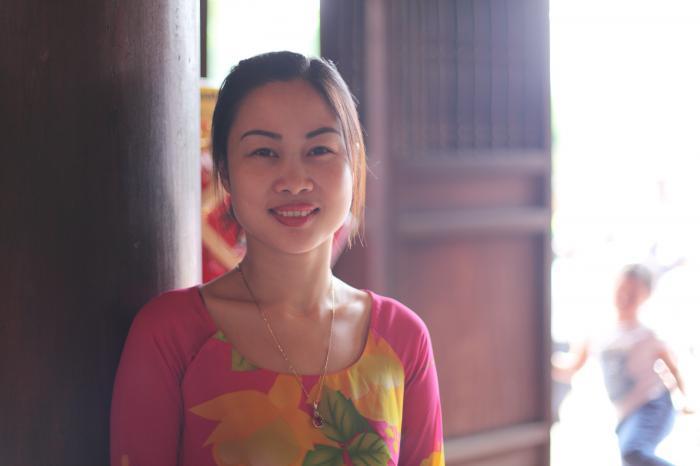 ベトナムの微笑み