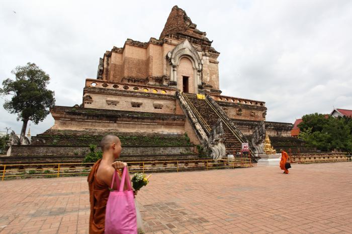 チェンマイ最大の仏塔