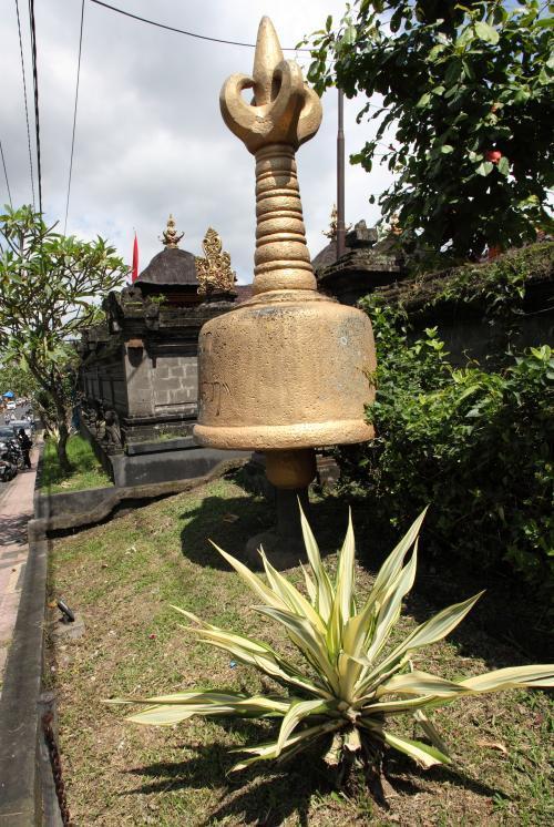 ヒンズー教寺院前の光景